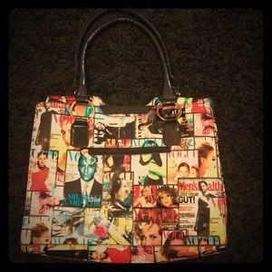 Vogue Multi-Color Handbag